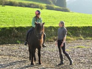 Unterricht mit Annika und Njáll